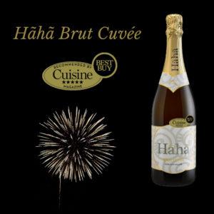 Haha Brut Cuvée Cuisine Award
